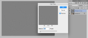 Hi Pass filter photoshop