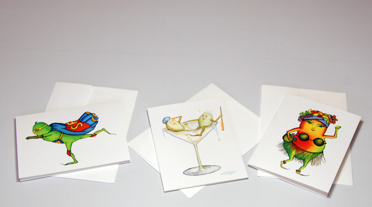 Fun and quirky Greeting Card Examples