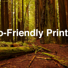 The Environmental Benefits of Digital Printing