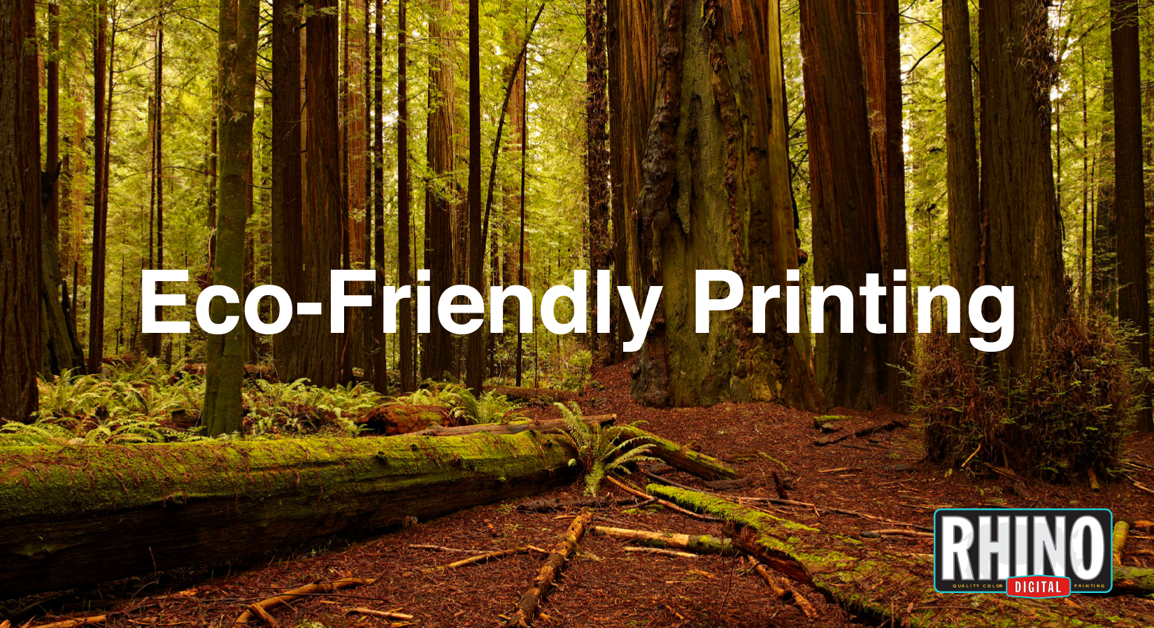 Environment friendly printing
