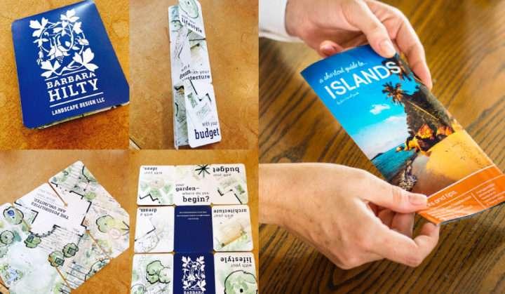 Digitally printed brochures